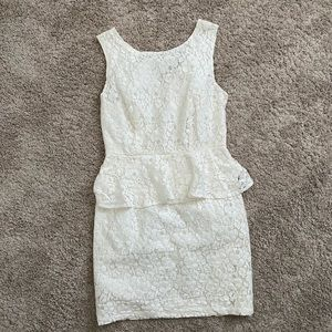 Forever 21 Lace White Dress